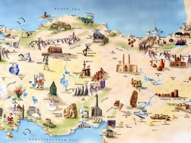 نقشه های کاربردی برای سفرهای خارجی مخصوص ایرانیان